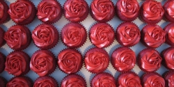 20 Red Cupcakes